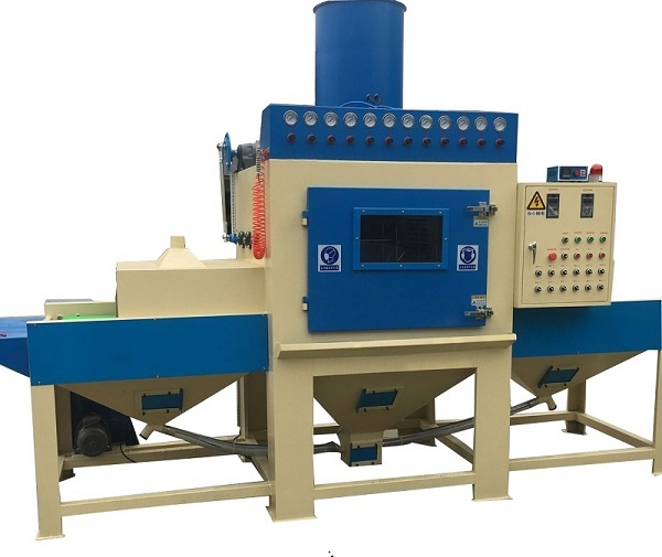 conveyor blast machine